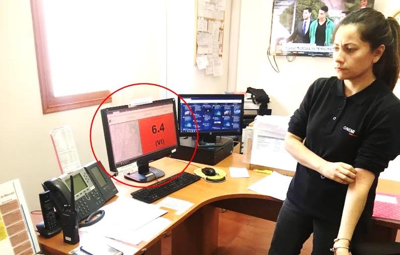 Instalación de Estación de Monitoreo Mercalli en Oficina Regional de Onemi Coquimbo